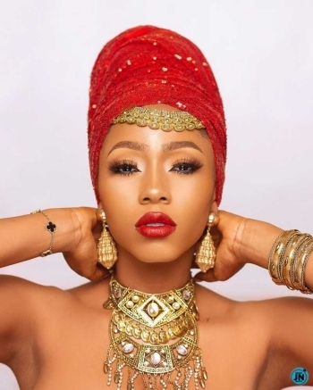 """""""You are typing in the nonsense again"""" – Mercy Eke dragged for calling herself 'powerful king'"""